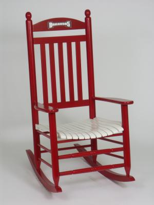 hinkle chair company collegiate rocking chair. hinkle chair