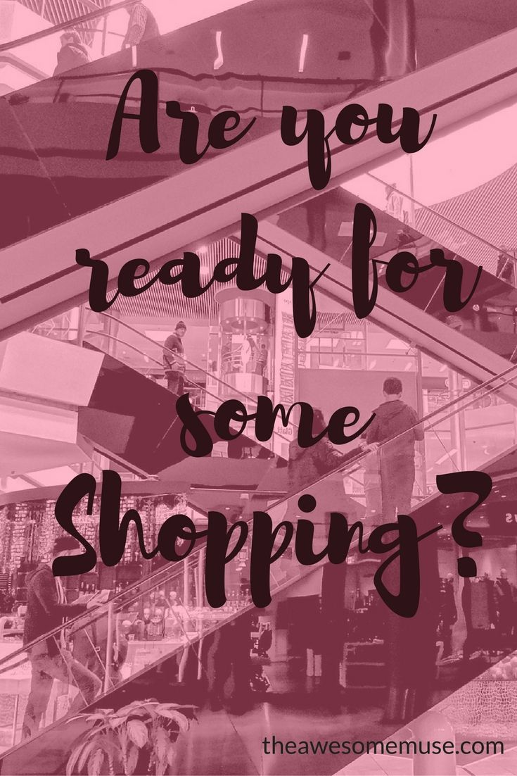 Are you ready for some shopping? There are some really great Black Friday and Cyber Monday deals this week. Check it out on theawesomemuse.com