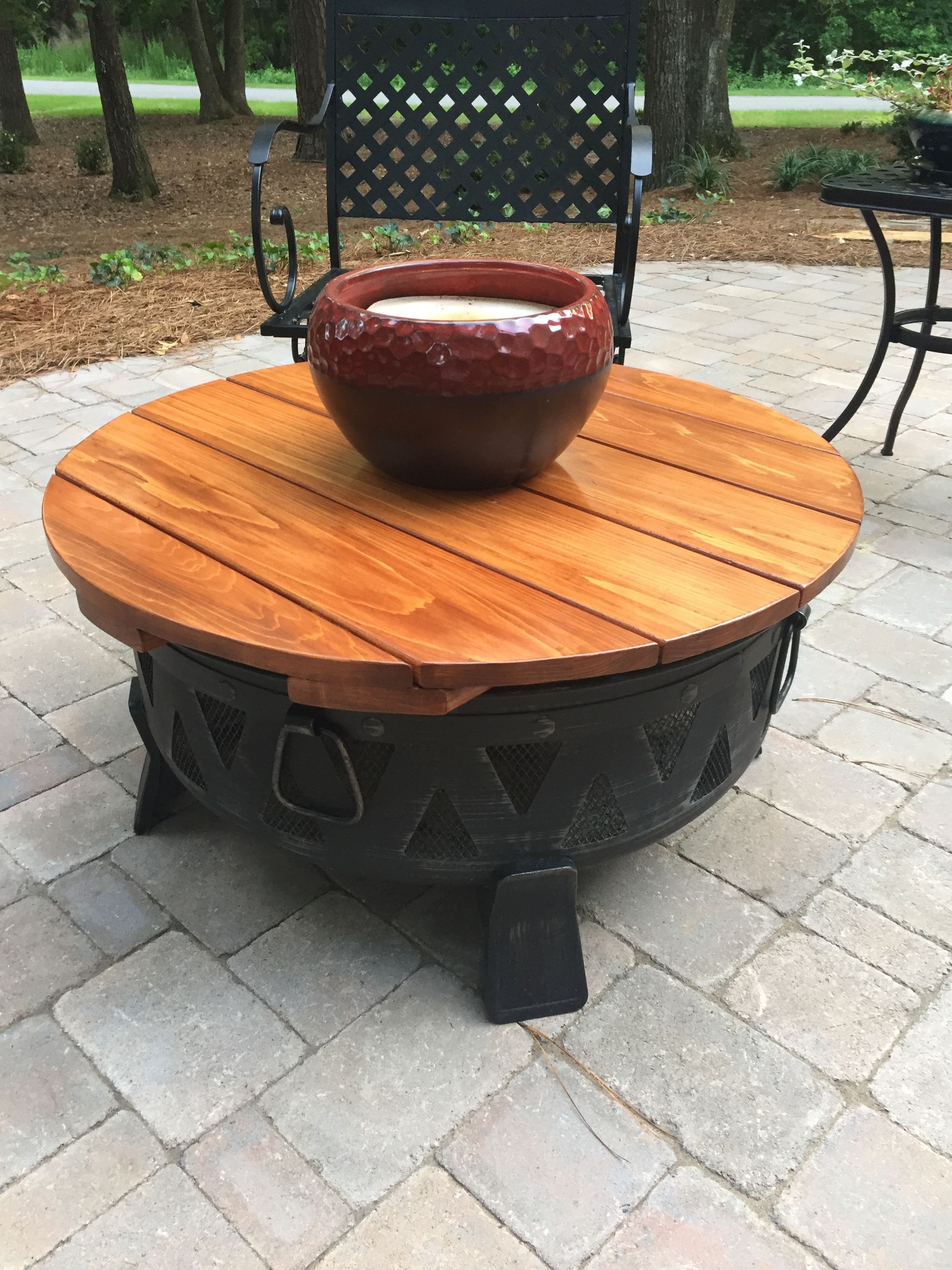 Custom Table Top Cover For Metal Fire Pit Custom Furniture By - Table top covers custom