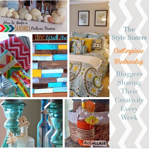 Tablescapes, Beachy decor, tutorials and more come check out centerpiece Wednesday where awesome bloggers come to share their creativity!