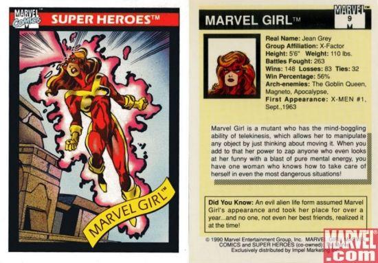Marvel Girl, Card #9 | Apps | Marvel.com