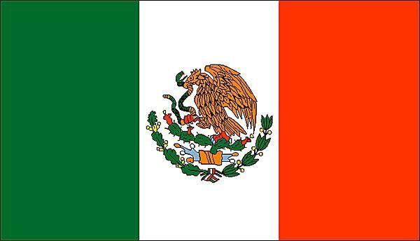 Le Mexique Sur Les Champs Elysées Drapeau Mexico Cards