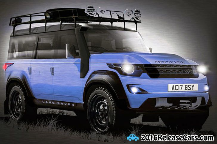 2017 Land Rover Defender  http://newcarreviewz.com/2017-land-rover-defender-rumors-release-date/