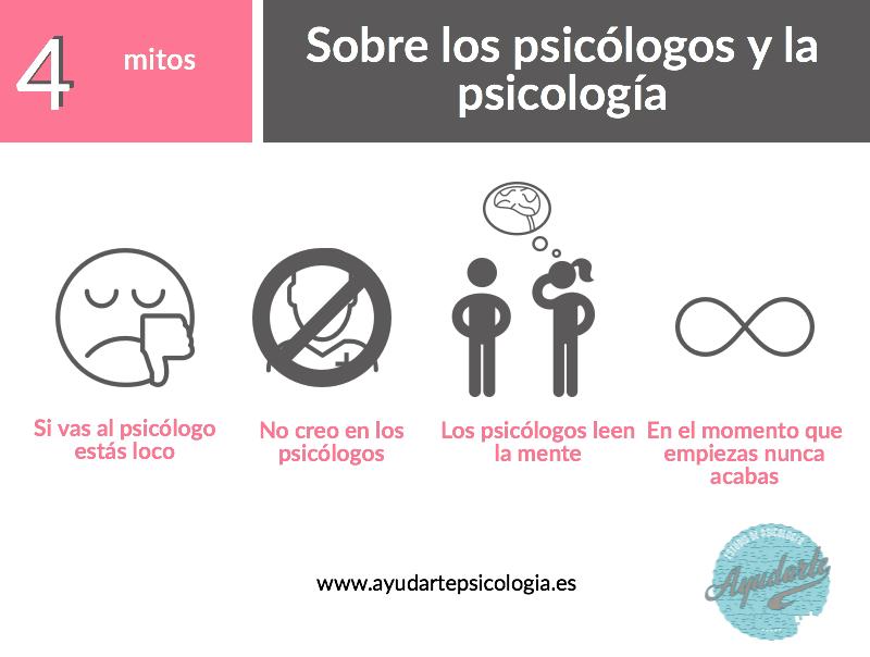mitos psicólogo ayudarte estudio psicologia