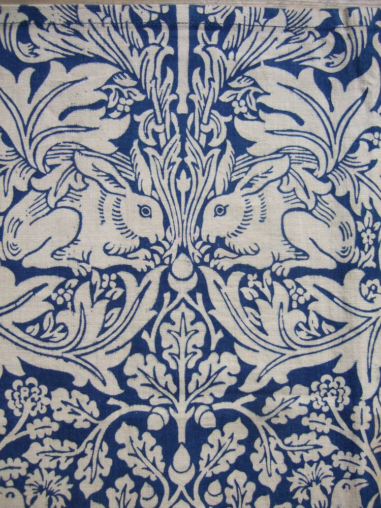 William Morris antique fabric Morris Co original Brer Rabbit Arts Crafts William Morris
