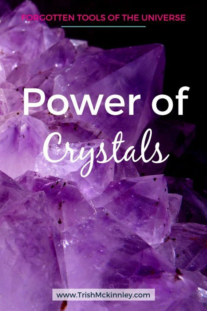 Wondering why crystals are so powerful? Here's what you need to know!  #crystals #forgottentoolsoftheuniverse #sparkle #gem #stone #crystal #purple #power #energy #positive #crystalsforbeginners #inspo #success #manifesting