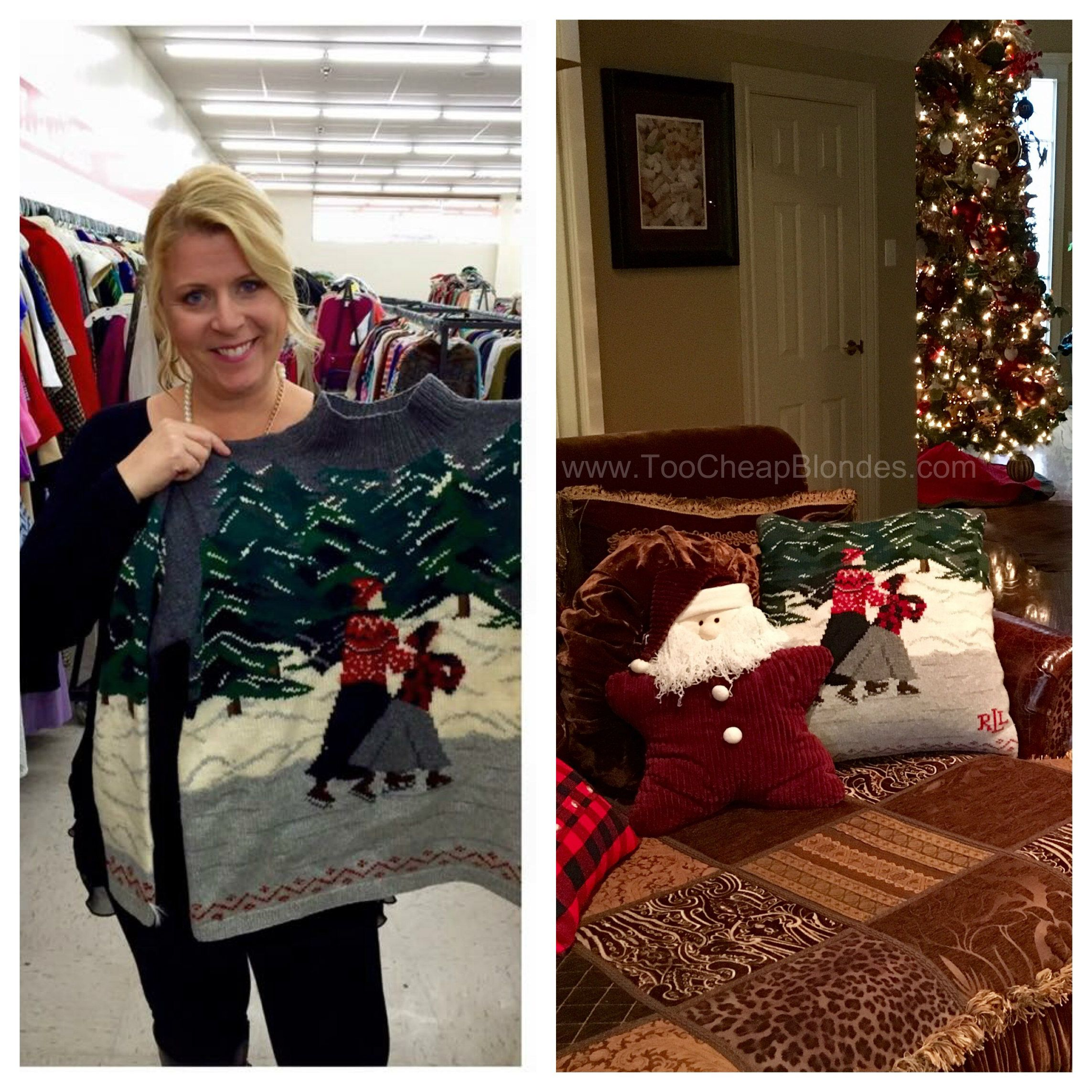 Christmas Decorations All Year Long: After Finding This Amazing Ralph Lauren Christmas Sweater
