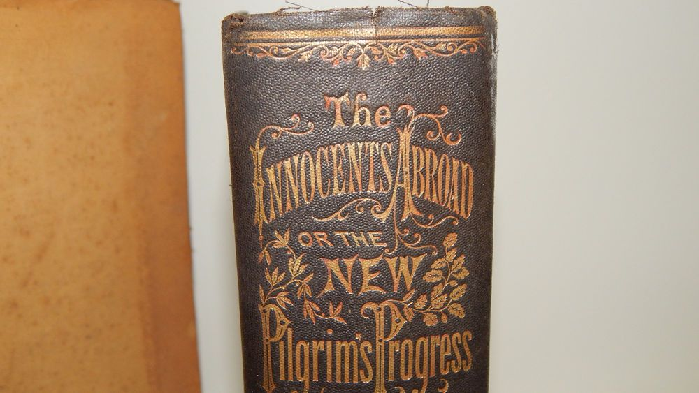 1870 Copy Of The Innocents Abroad Or The New Pilgrims Progress By