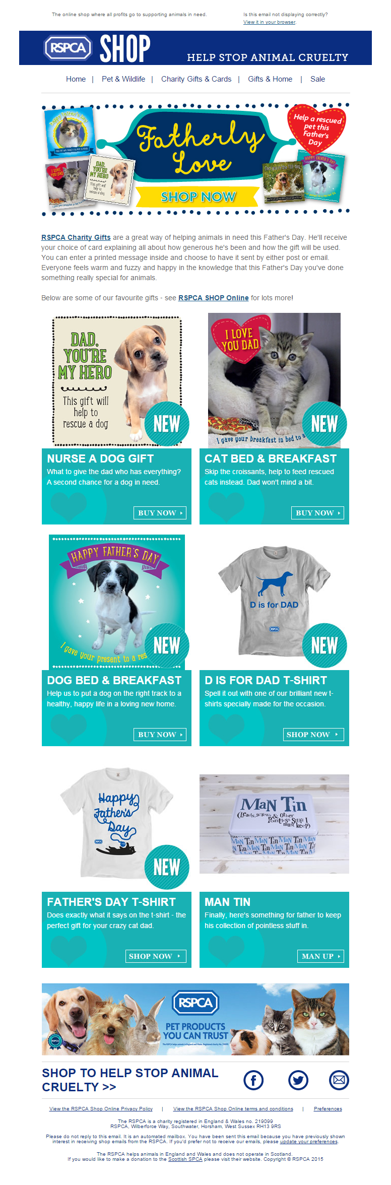 RSPCA Shop Online Fundraising, Pet photographer, Charity