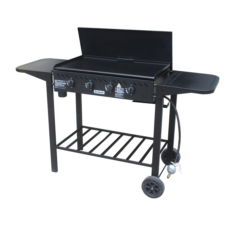 Jumbuck 4 Burner Flat Top Delta Barbecue 4 burner bbq