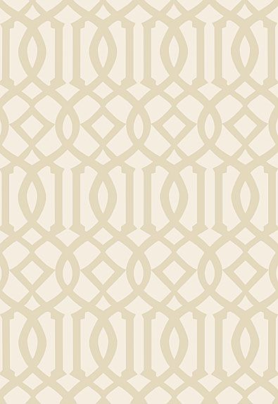Imperial Trellis II Sand Ivory by Schumacher