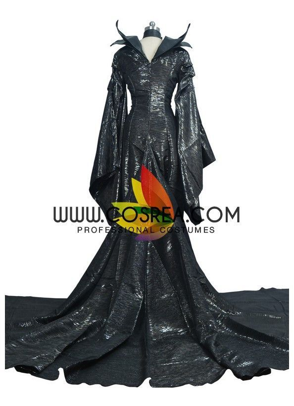 Maleficent Classic Textured Cosplay Costume Maleficent, Cosplay