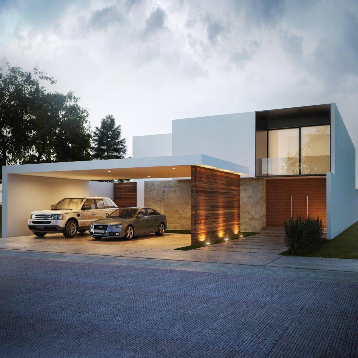 Pin de rodolfo castellano freire en dise os hogar casas for Casa minimalista harborview hills