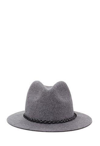879b0d805b0f6 Braided Trim Wool Fedora | FOREVER 21 - 2000101319 | My Style | Hats ...