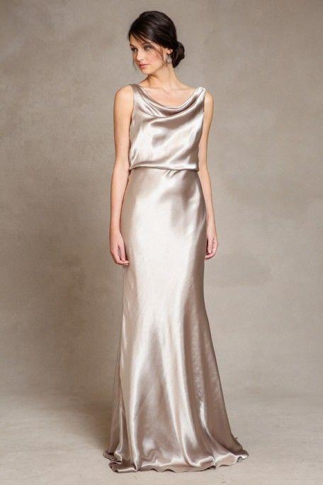 Metallic Bridesmaid Dresses