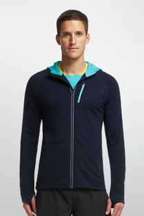 3d694b9b Quantum Long Sleeve Zip Hood - Icebreaker (US). I love the combinations of  the colors they use on this hoodie.