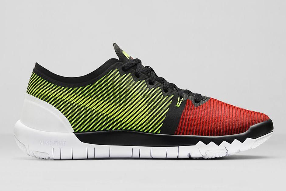 ae958e6d004d Nike Free Trainer 3.0 V4 - Volt - Team Red - SneakerNews.com ...