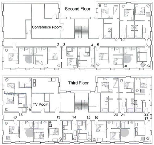 The Palmer House Hotel Floor Plans a r c h Pinterest