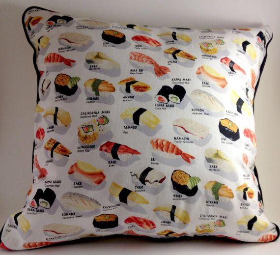 Sushi Throw Pillow