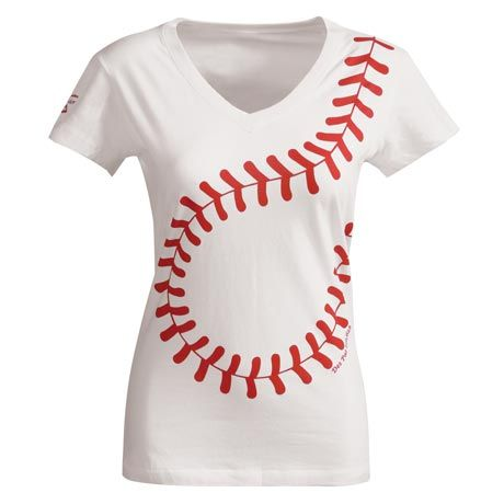Women's Baseball T-Shirt - fun for baseball season with DiPietro on the back