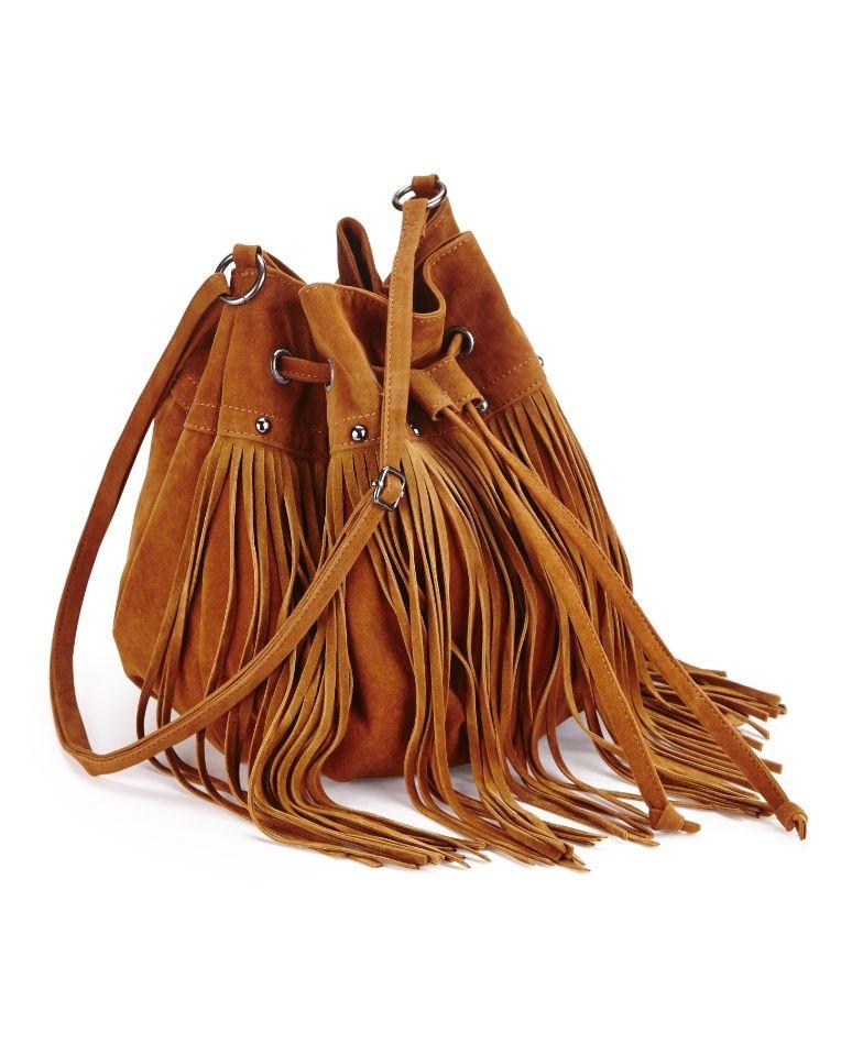 Fringe Duffle Bag at Simply Be