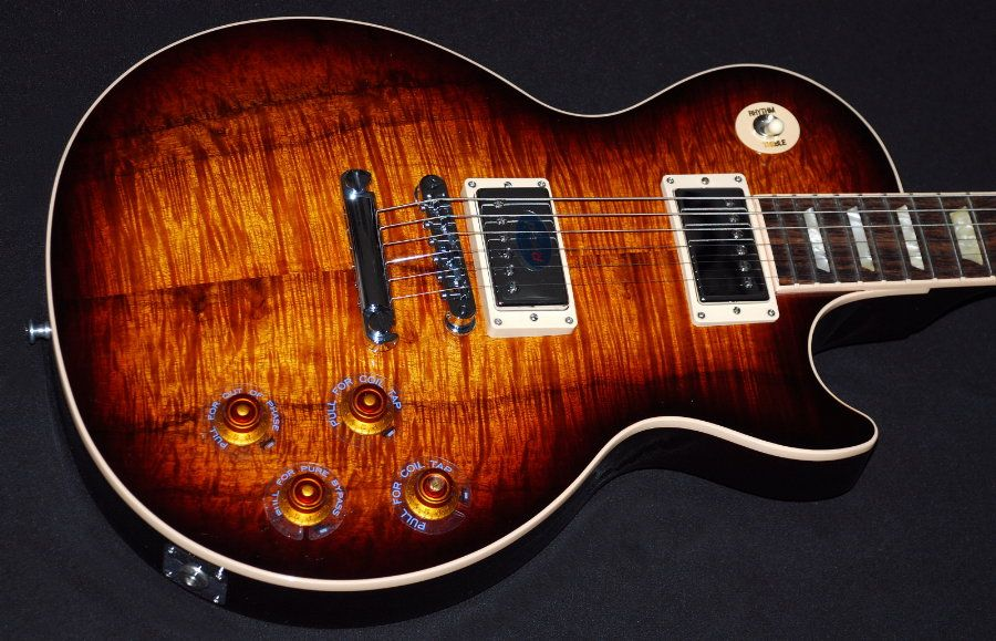 2013 gibson les paul standard koa top 2013 gibson les paul standard premium aaa koa top. Black Bedroom Furniture Sets. Home Design Ideas