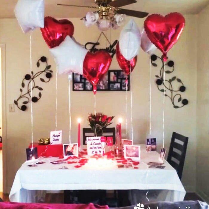 Decoraci n rom ntica buho pinterest decoracion for Cena romantica para mi novio
