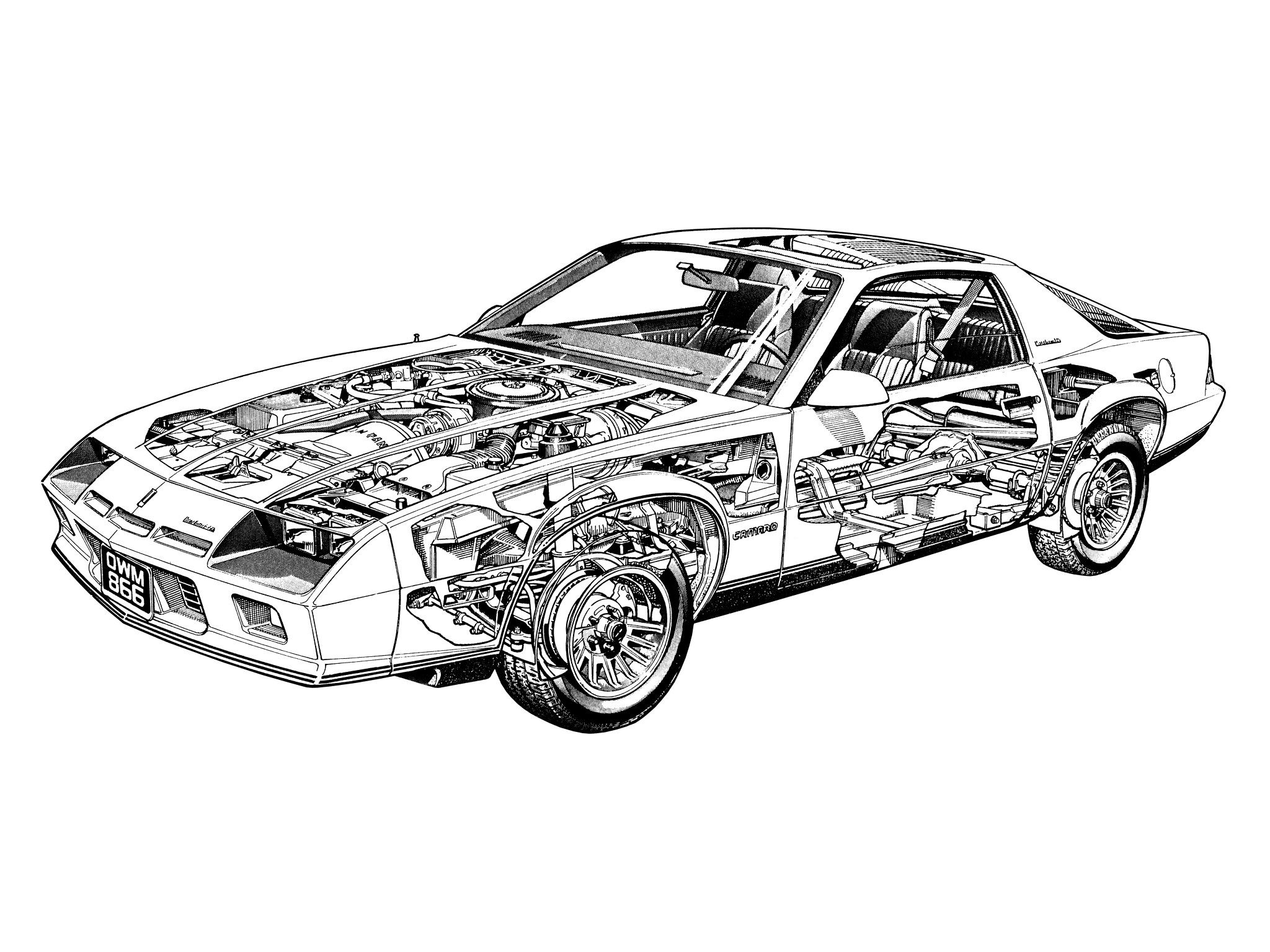 84 Chevrolet Camaro Berllinetta