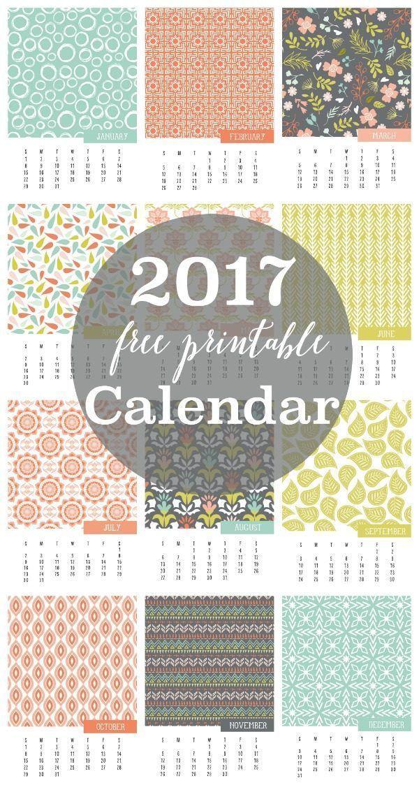 Calendar Free Printable  Printable Monthly Calendar Free