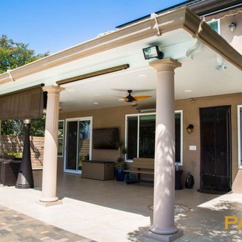 Photo Of Patio Warehouse   Orange, CA, United States. Elitewood Solid Insulated  Patio Cover | Patio Cover | Pinterest | Patios And Warehouse