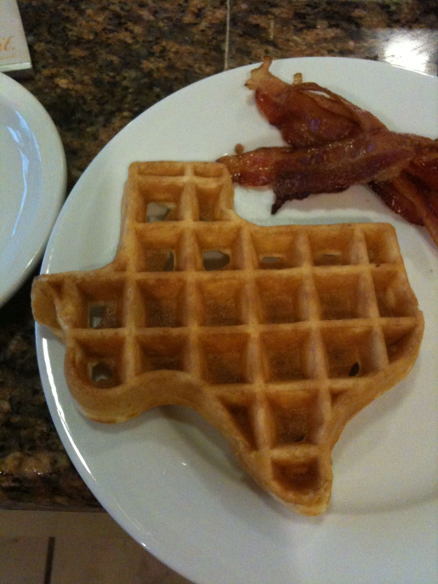Texas Waffle What Other State Has A Waffle Machine With Their Image Texas Food Waffle Sandwich Texas Living