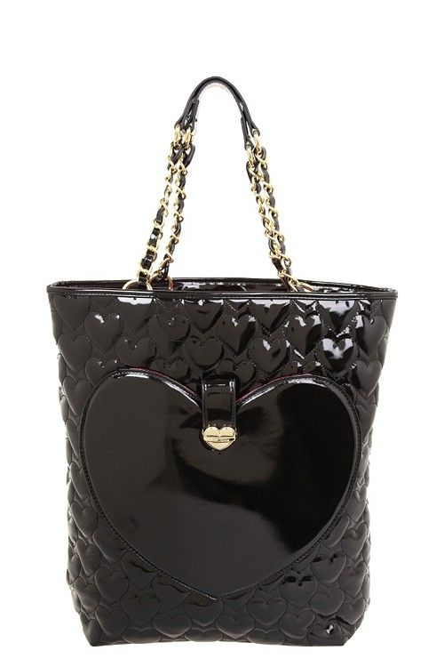 Betsey Johnson - Black Mine & Yours Tote