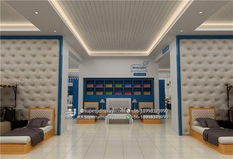 Midnight Sleep Shop Interior Design, Home Textile Store ...