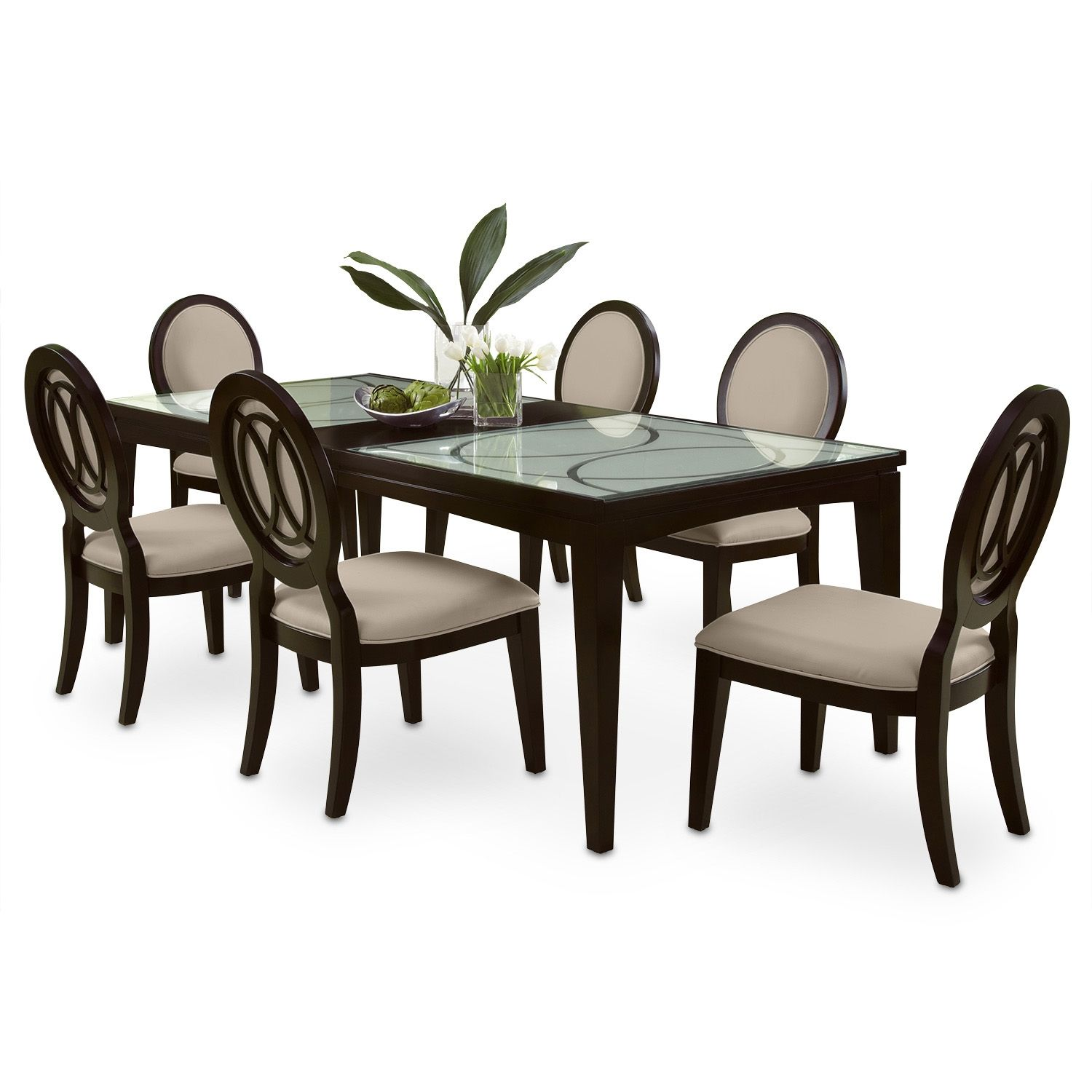 Paradiso 7 Pc Dining Room