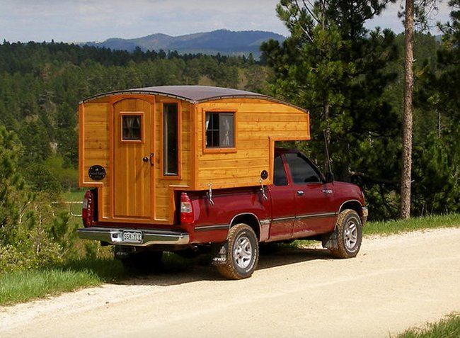 The Terrapin: Handmade wooden camper is a home of ...