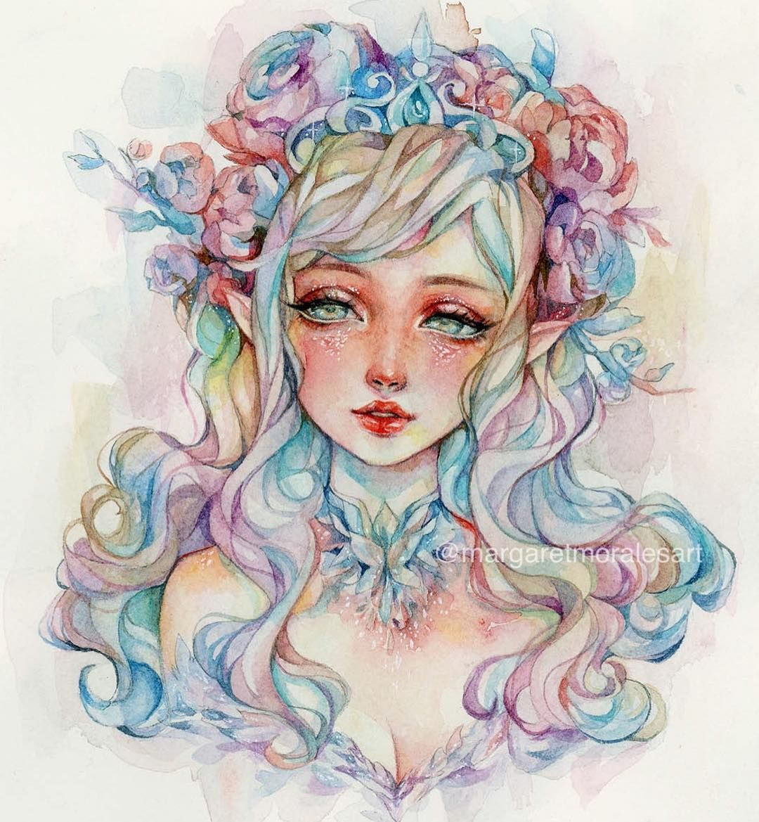 Watercolor Artist Margaret Morales Watercolor ARTWOONZ