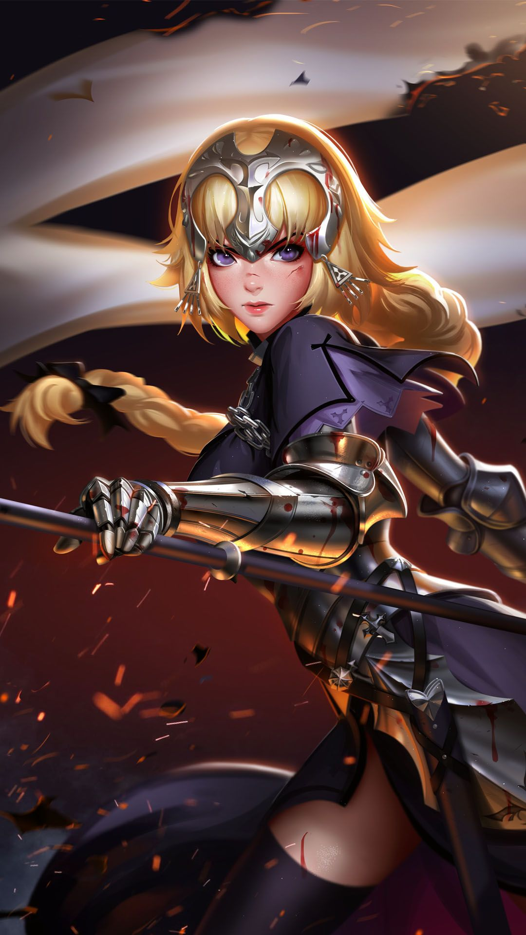 Jeanne darc in 2020 joan of arc fate jeanne darc anime