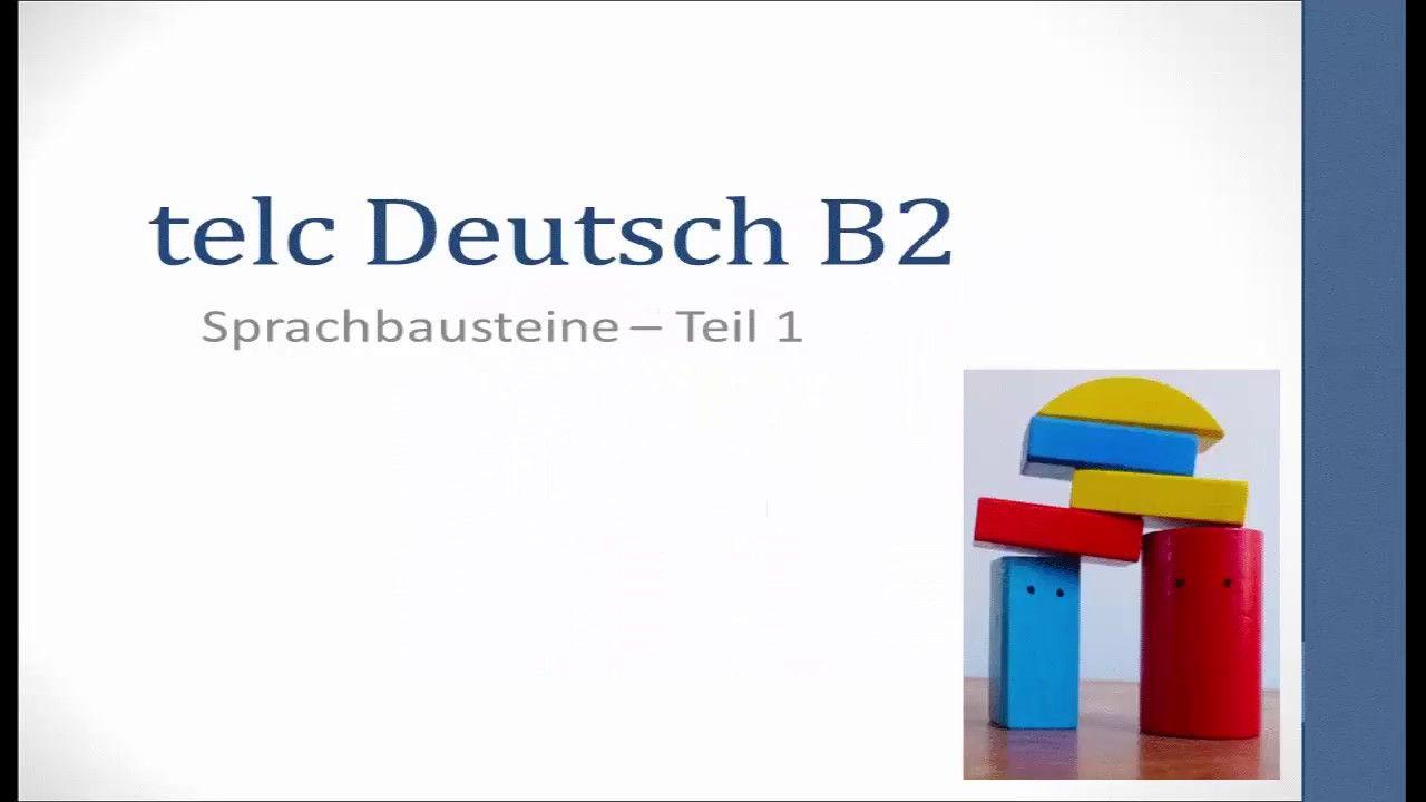 pr fungsvorbereitung telc deutsch b2 sprachbausteine deutsch lernen learn german deutsch. Black Bedroom Furniture Sets. Home Design Ideas
