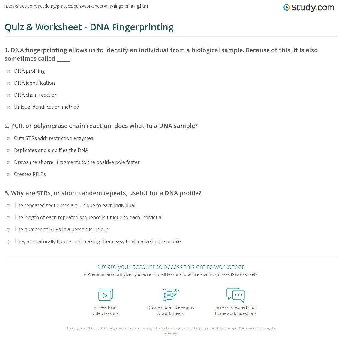 Dna Fingerprint Worksheet Answers Dna Fingerprinting Worksheet Key Promotiontablecovers Dna Fingerprinting Text Features Worksheet Worksheets