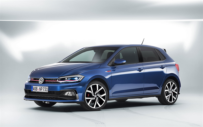 Download Wallpapers Volkswagen Polo Gti 2018 Cars German Cars Blue Polo Vw Polo Volkswagen Volkswagenpologti Volkswagen Polo Gti Vw Polo Gti Polo Gti