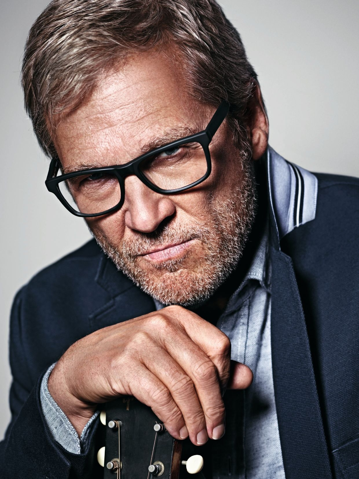Smart looking Jeff Bridges for the Marc O´Polo Spring ...