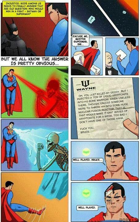 You know it's true. #Batman #Superman