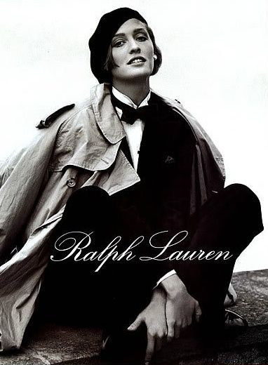Ralph Lauren inveted the 80s preppy looky.The clothing line was the top choice for teens who wanted a classic look.