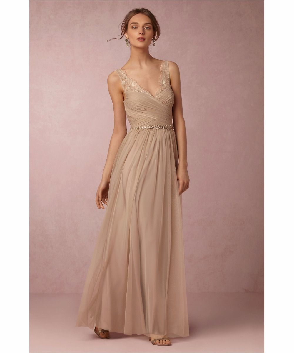 Aliexpress.com : Buy Champagne Bridesmaid Dresses Pleats Tulle with Floral Lace on the Top 2016 New Arrival Bridesmaid Dresses with Shining Sash from Reliable dress up a black dress suppliers on Life&Peace Dress Store