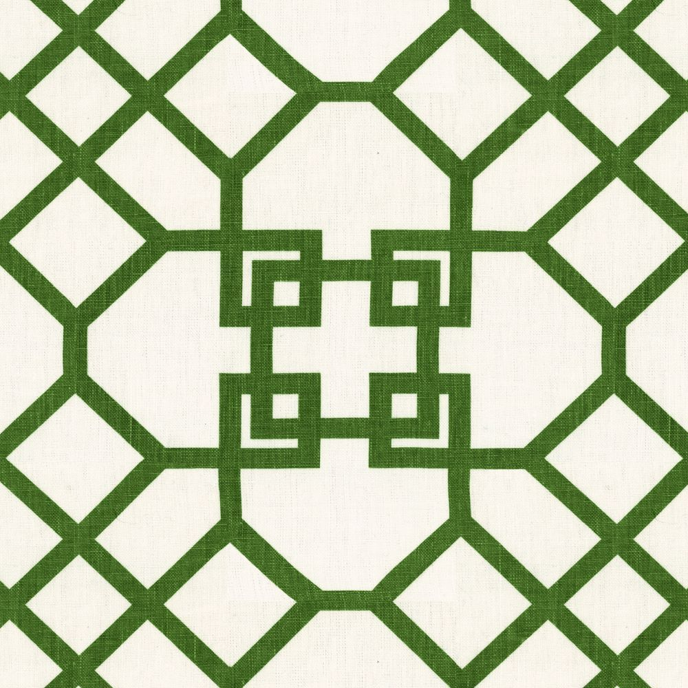Trellis Fabric xu garden - veridian | fabrics, linen fabric and chinoiserie