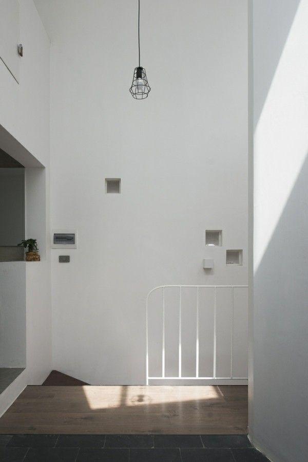 Moderne Architektur Flur Deko Und Leuchten