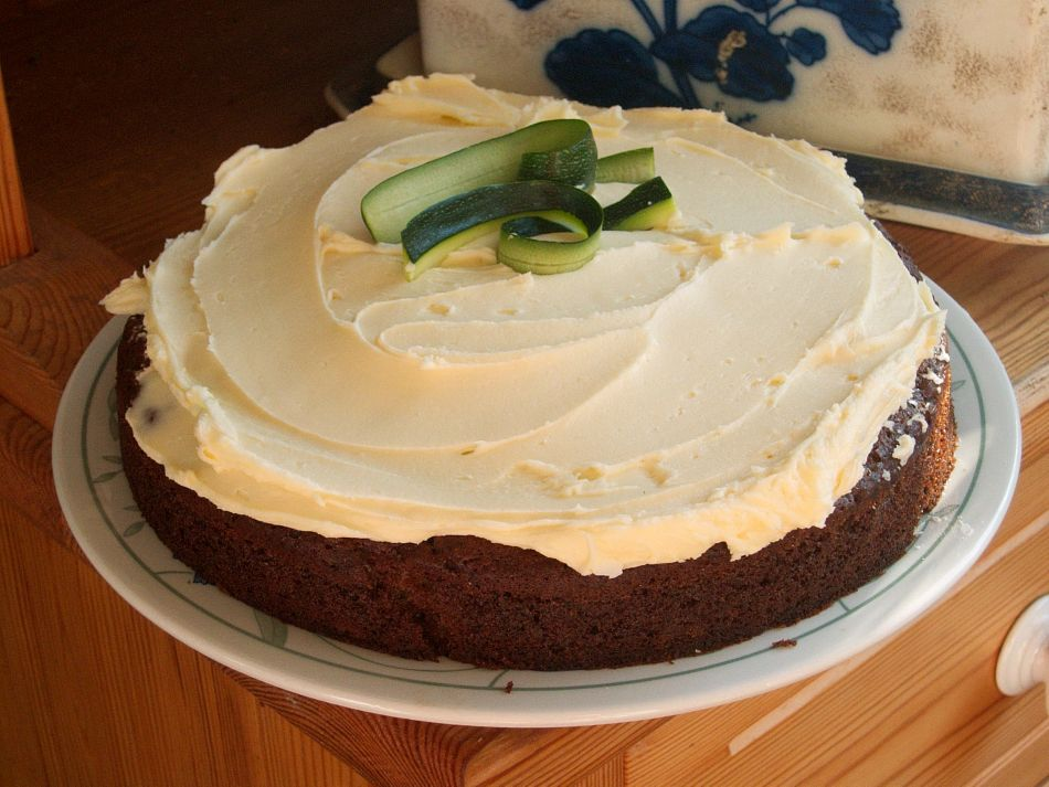 Courgette cake healthy carrot cakes baking recipes