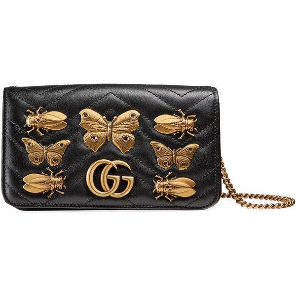 57cba6ce28a Gucci GG Marmont animal studs mini bag ( 1