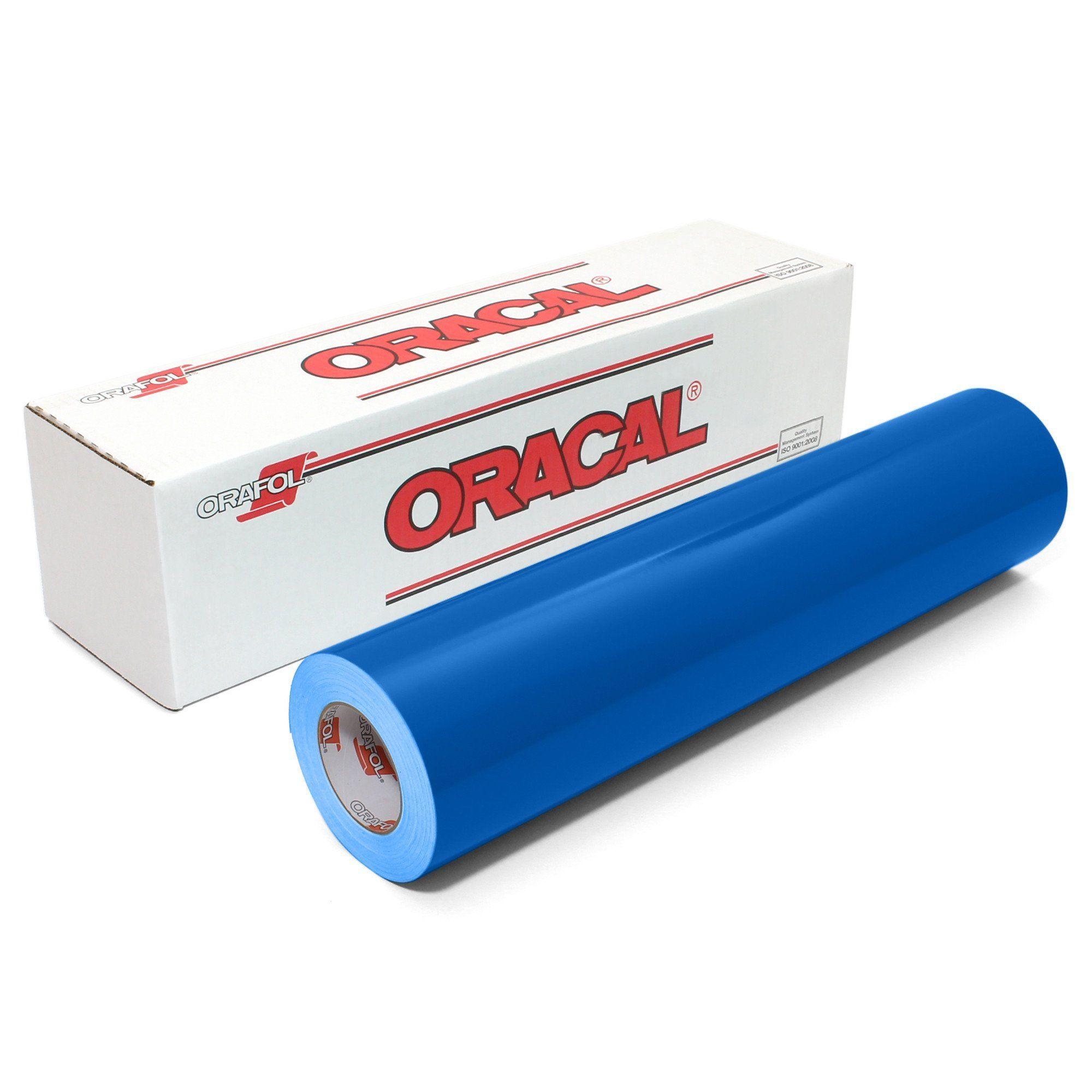 Oracal 651 Glossy 12 Vinyl Rolls Oracal Adhesive Vinyl