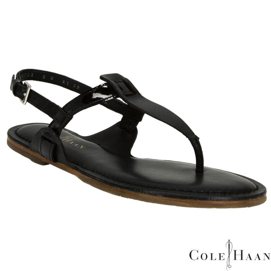 Cole Haan Bridget Leather Thong Sandal #VonMaur
